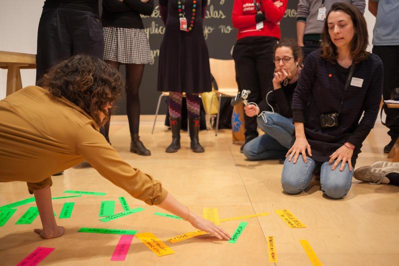 Sesión de Situar la Mediación. Foto: Santi Piñol