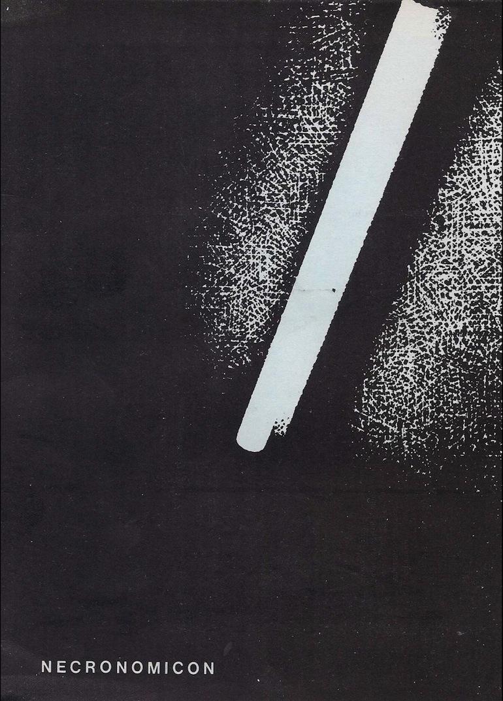 Portada del tercer número de Necronomicón, 1986