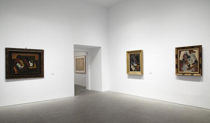 Vista de sala de la exposición. María Blanchard, 2012