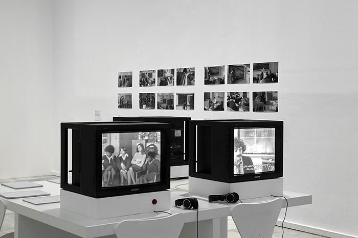Vista de sala de la exposición Un saber realmente útil, 2014
