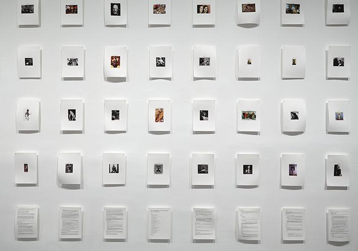 Vista de sala de la exposición Daniel G. Andújar. Sistema operativo, 2015