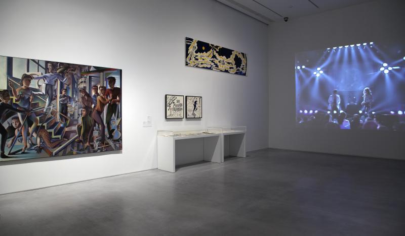 Vista de sala de la Colección 3. De la revuelta a la posmodernidad, 1962-1982