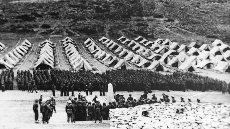 Campos de prisioneros de Makronissos (fecha desconocida)
