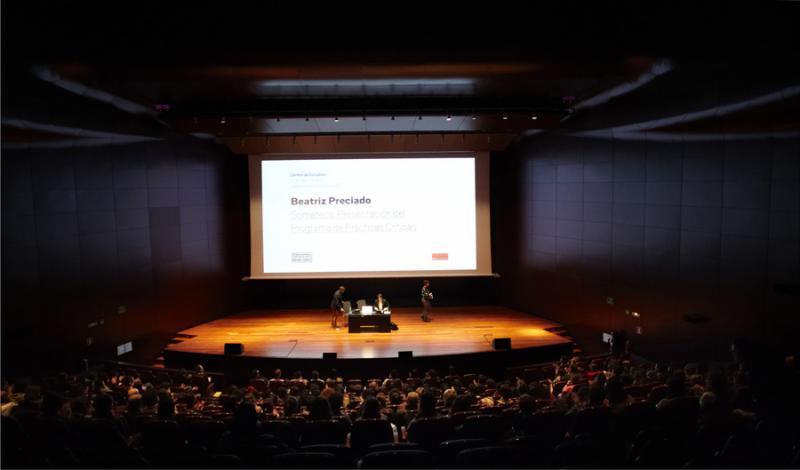 Beatriz Preciado. Somateque. Presentation Training Program Reviews, 2012