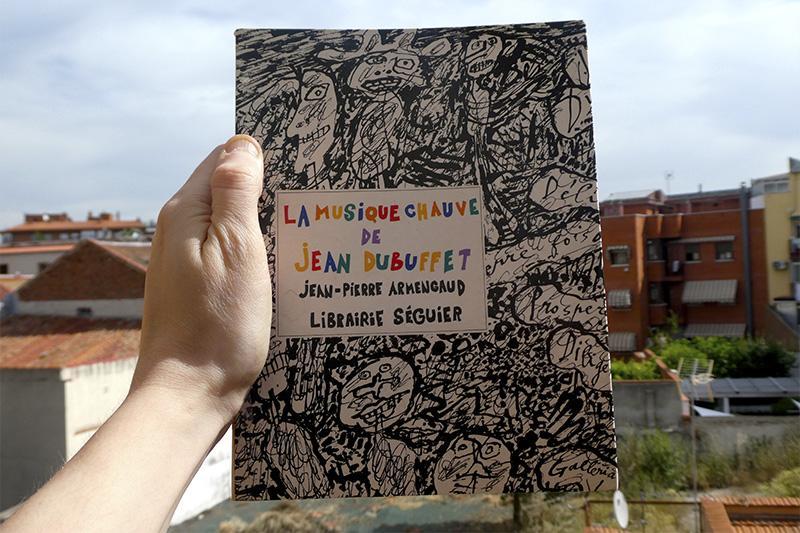 """Libro """"La musique chauve de Jean Dubuffet"""" de Jean-Pierre Armengaud, editado por Librairie Séguier en 1991"""