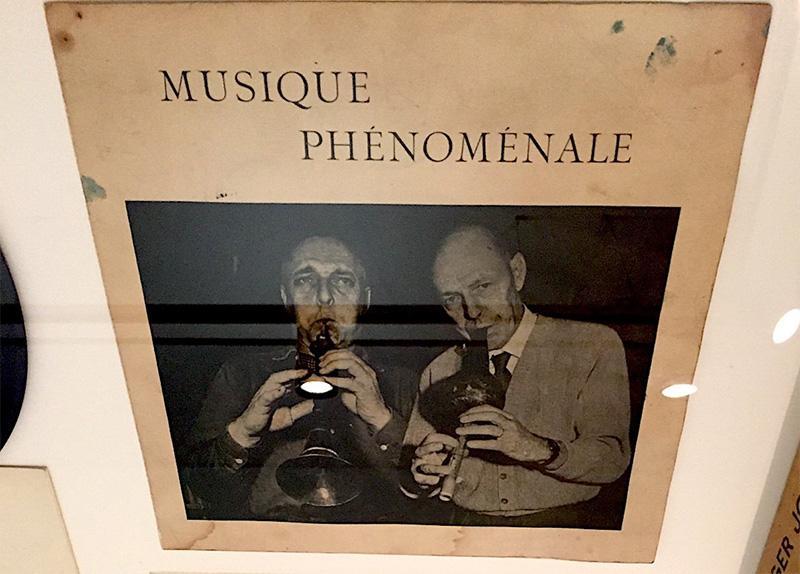 """Portada del disco """"Musique Phenomenale"""" de Asger Jorn y Jean Dubuffet, editado por Edizione del Cavalllino en 1961"""