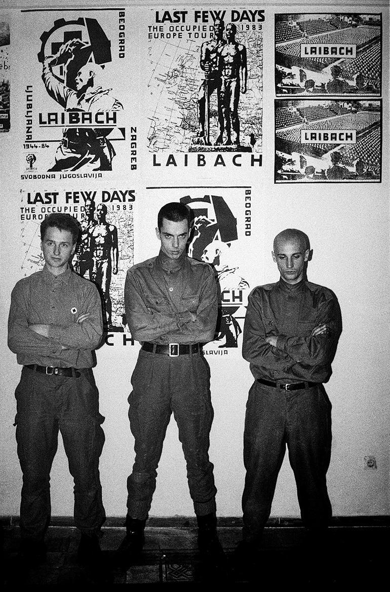 Laibach en el ŠKUC, 1984