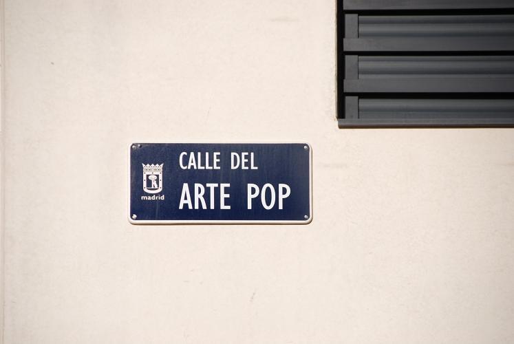 Hans Haacke. Castles in the air, 2012 (Ensanche de Vallecas, Calle del Arte Pop, parcela 5.31D) © Hans Haacke/VEGAP, Madrid, 2012