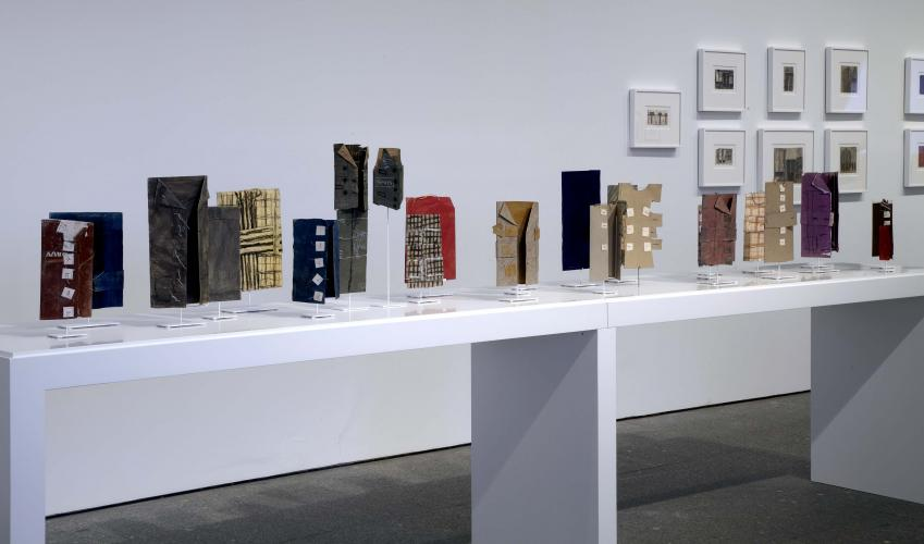 Exhibition view.James Castle. Show and store, 2011