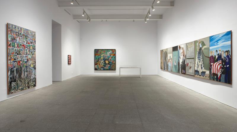 Vista de sala de la Colección ¿La guerra ha terminado? Arte en un mundo dividido  (1945-1968)