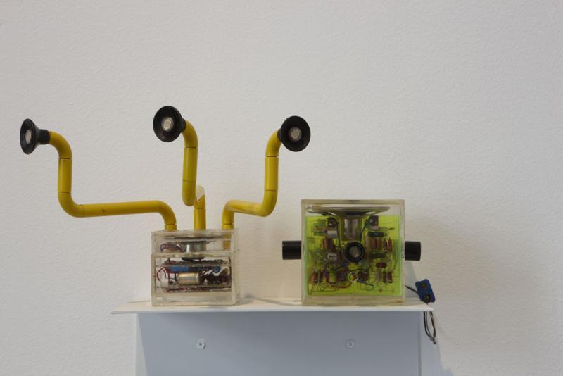 Vista de sala de la exposición. Encuentros de Pamplona 72: Fin de fiesta del Arte Experimental, 2009