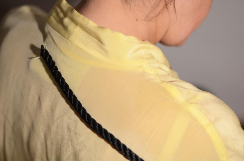 Leonor Antunes. String travel (El trayecto de la cuerda), 2011. Película 16 mm