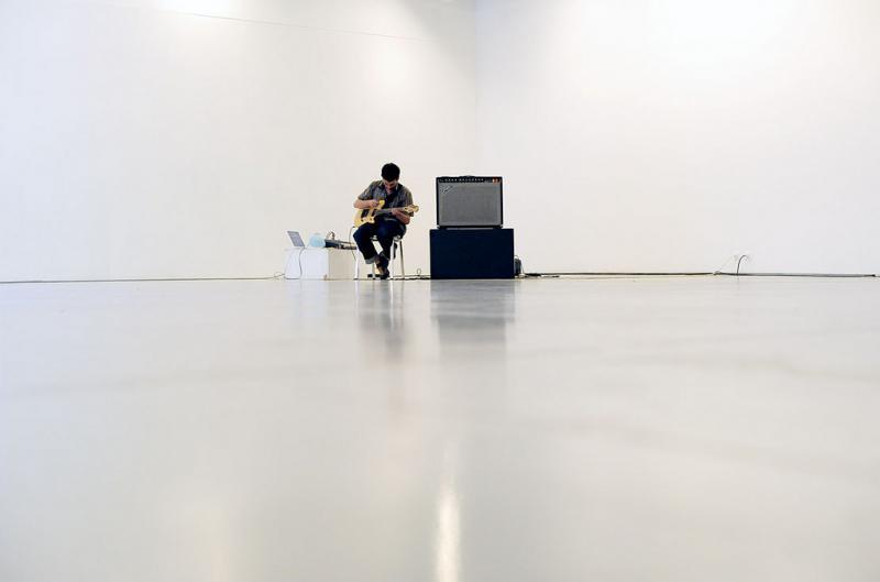 Asier Gogortza. Ferran Fages en Festival ERTZ#12, 2010
