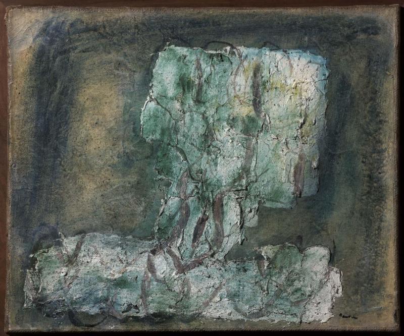 Jean Fautrier. L'arbre vert, 1942