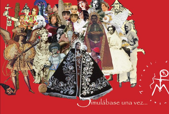 Giuseppe Campuzano. Museo del Travestí. Collage, 2010