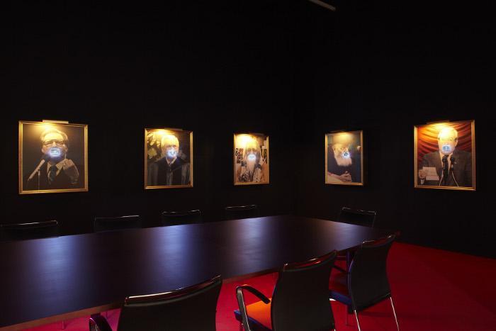 Exhibition view. Antoni Muntadas. Entre/Between, 2011