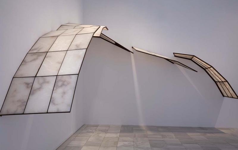 Vista de la exposición. Cristina Iglesias. Metonimia, 2013