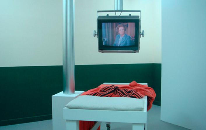 Richard Hamilton. Treatment room, 1984