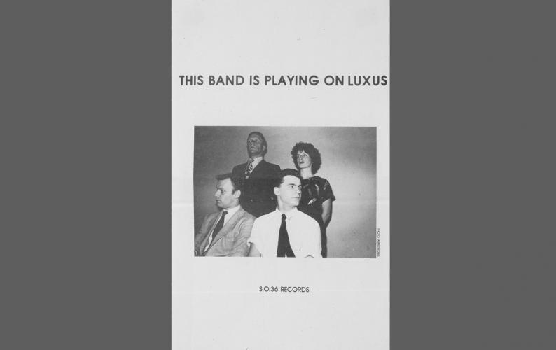 This Band is playing on Luxus,S.O. 36 Records, Berlin 1979