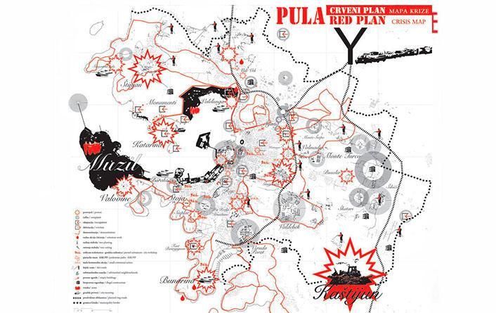 Pulska Grupa. Mapa de Pula, 2011