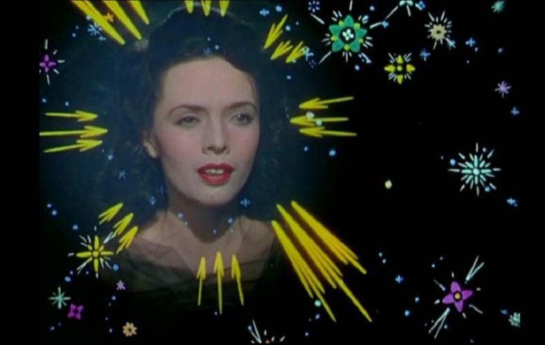 Dora Luz interpretando You Belong to My Heart en Los tres Caballeros 1944