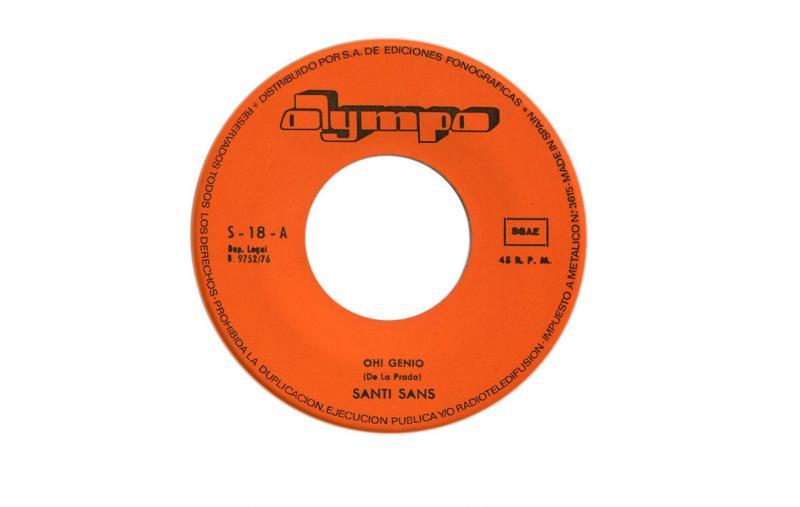 Oh! Genio. Santi Sans, Olymplo, 1976