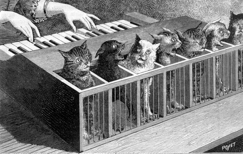 Grabado de La Nature ,1883
