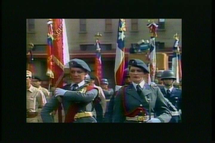 Juan Downey, The Motherland. Vídeo, color, sonido, 7', 1987