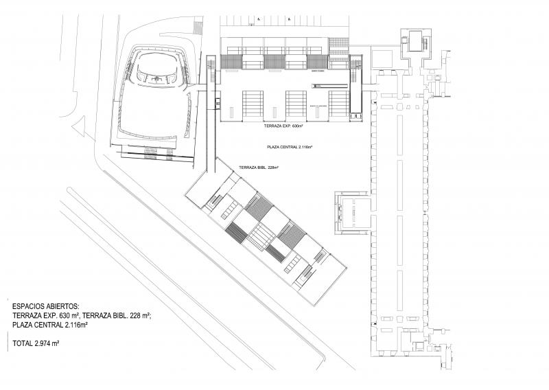 Terrazas del Edificio Nouvel del Museo Reina Sofía