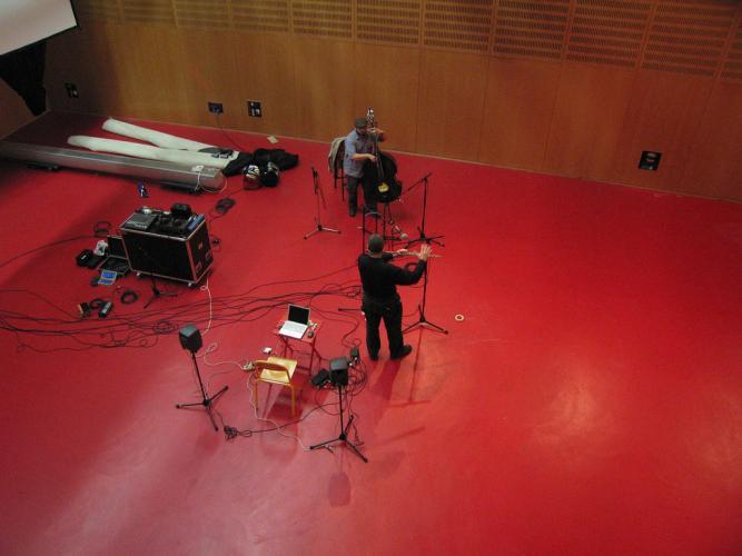 Reuben Radding. Wade Matthews at albi studio, 2007