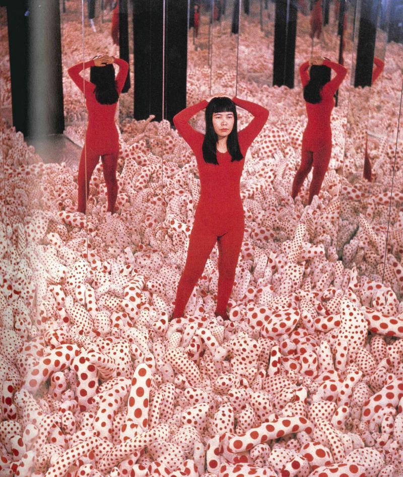 Yayoi Kusama. Floor Show. Instalación. Castellane Gallery, Nueva York