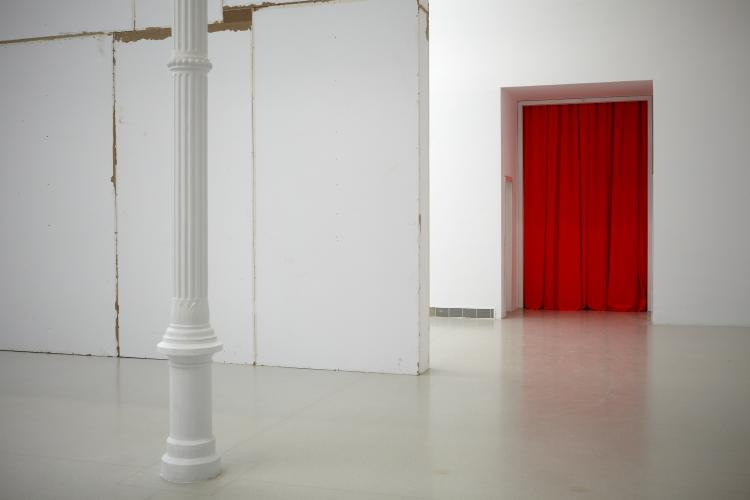 Exhibition view. Heimo Zobernig, 2012