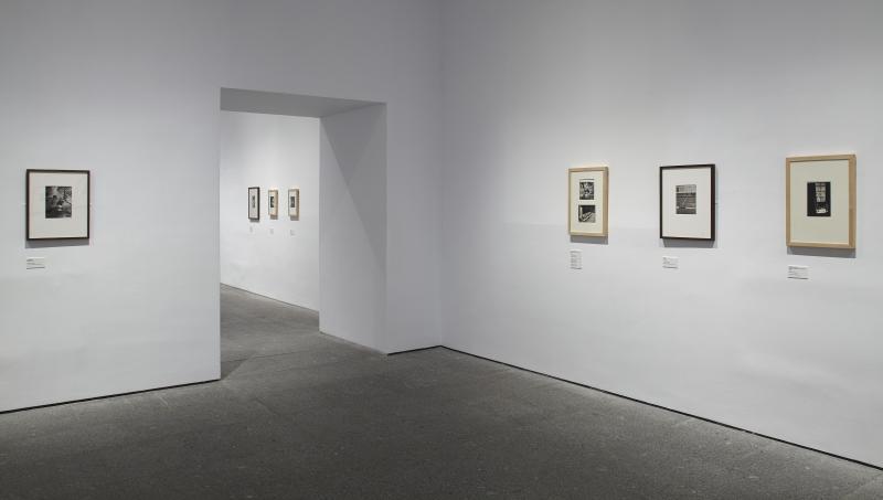 Vista de la sala de exposición Wols: el cosmos y la calle, 2014