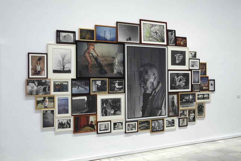 Vista de sala de la exposición. Formas biográficas, 2014
