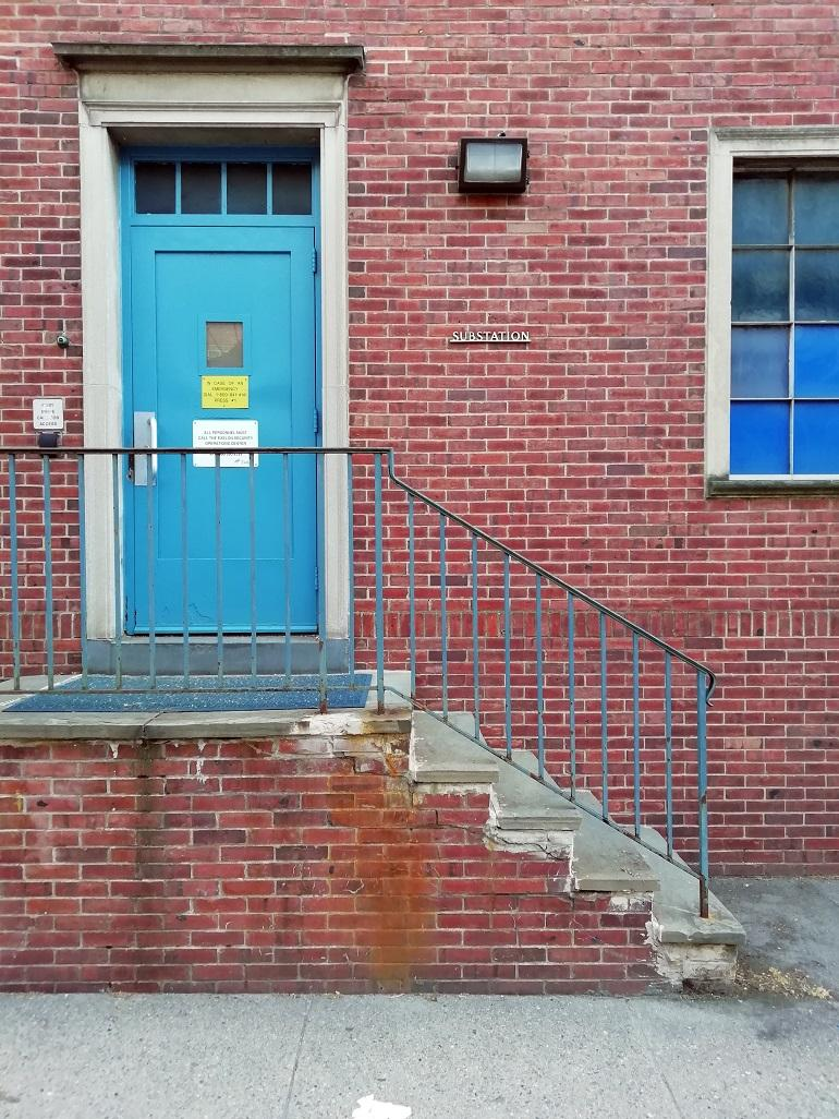 "01: 914 Lombard Street (Philadelphia), site of Dietz & Wang's March 20th, 2019, ""Listening for Rebecca Jackson,"" Photo: Bill Dietz"