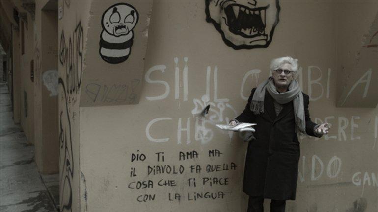 Fotograma de la película Comunismo Futuro (2017), de Andrea Gropplero protagonizada por Franco Berardi Bifo