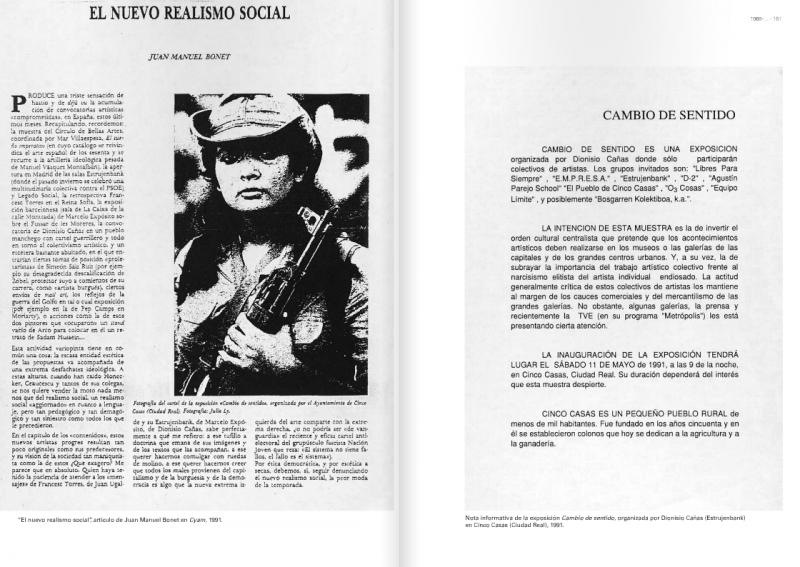 Publicación Desacuerdos 1 en la web del Museo Reina Sofía