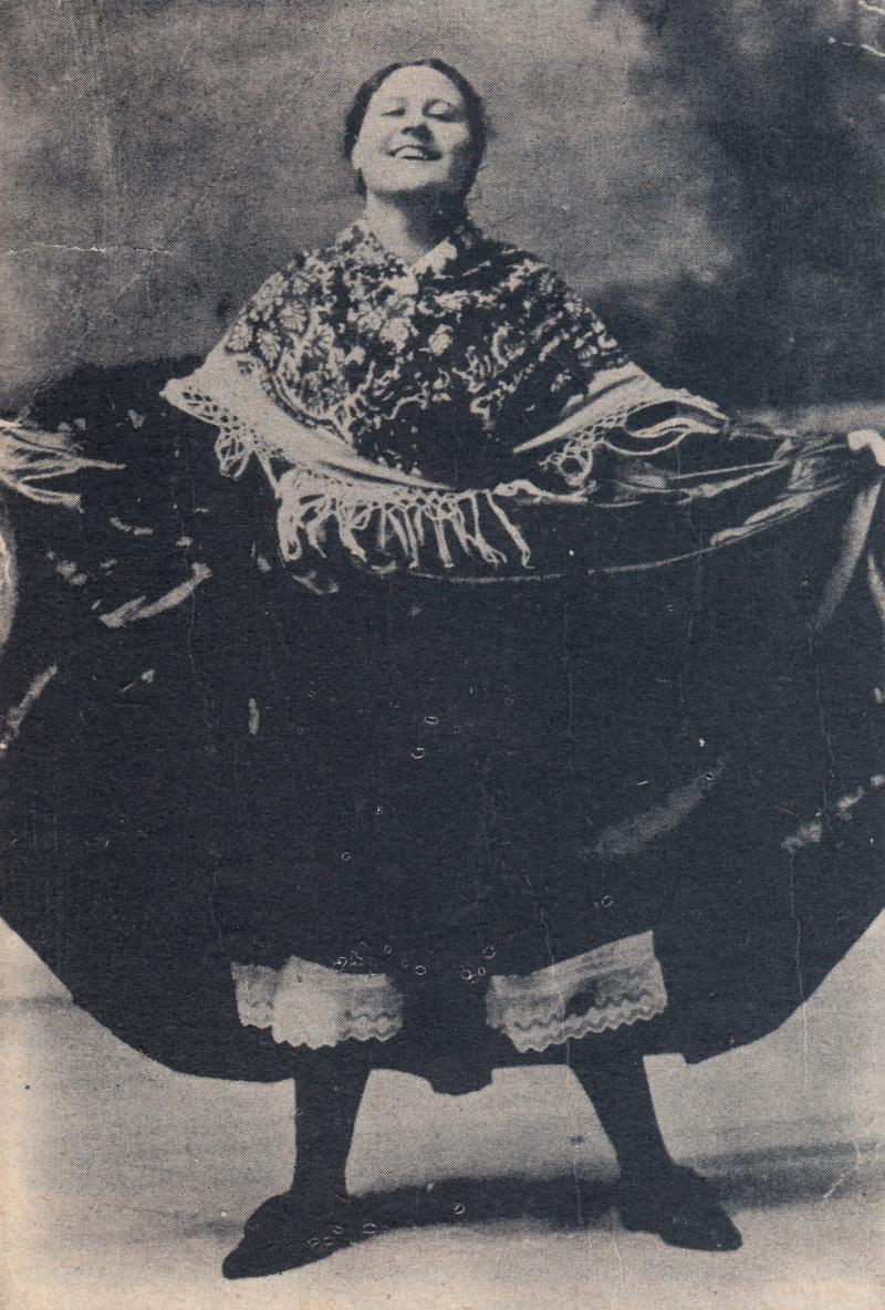 Carmen Flores, c. 1913