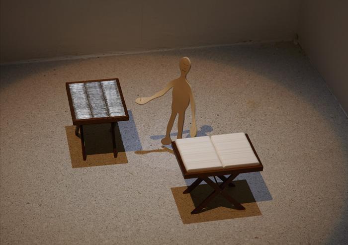 Vista de sala de la exposición. Cildo Meireles, 2013