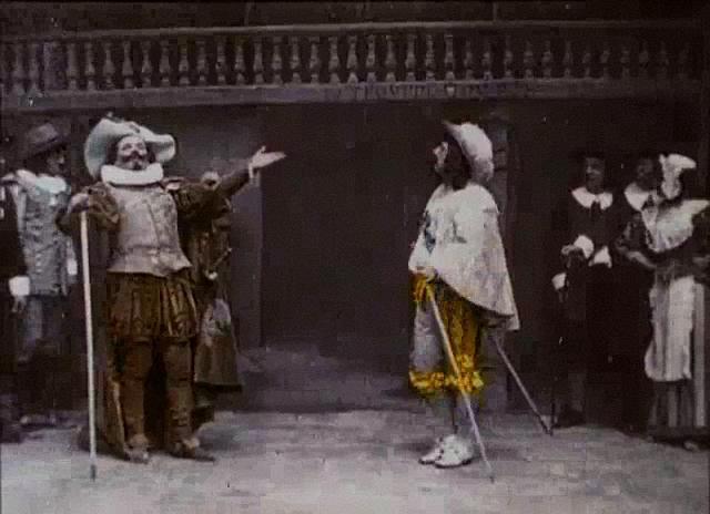 Clément Maurice. Cyrano de Bergerac 1900