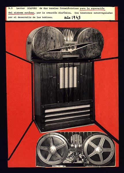 Diáfono de Val del Omar, 1943