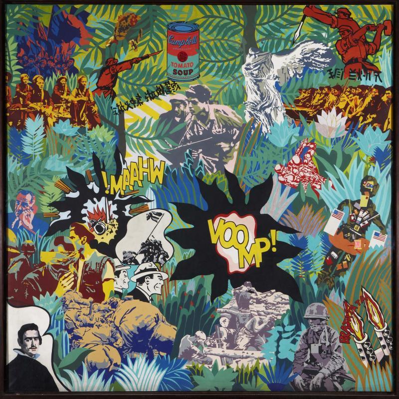 Equipo Crónica. El realismo socialista y el Pop Art en el campo de batalla, 1969