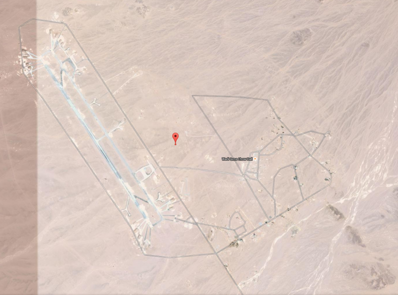 Base aérea de Wadi Abu Shihat, Quena, Egipto © Larry Grinnell