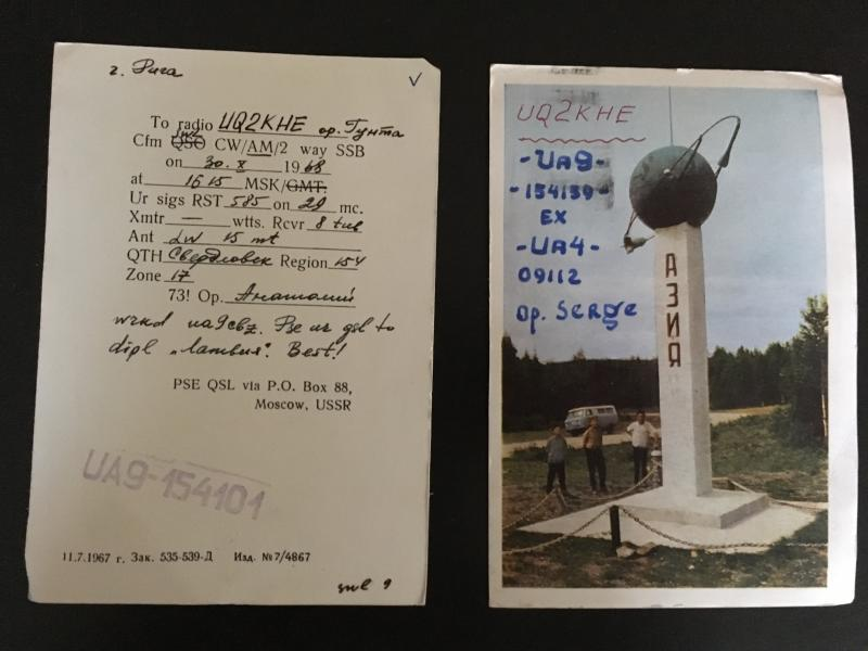 Colección de postales de Edgars Zvirgzdiņš. Foto: Sara Buraya