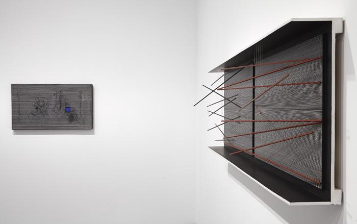 Vista de sala de la exposición. La invención concreta. Colección Patricia Phelps de Cisneros