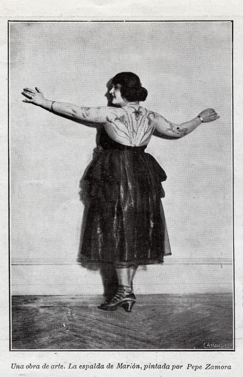 La fiesta del tatuaje, revista Nuevo mundo, 10 de febrero de 1922