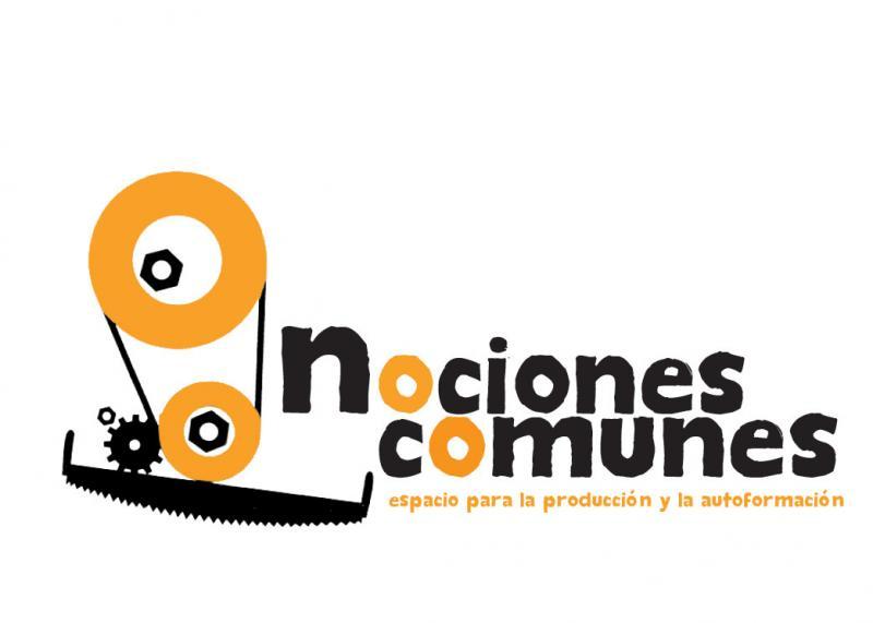 Logo Nociones Comunes. Espacio para la producción y formación
