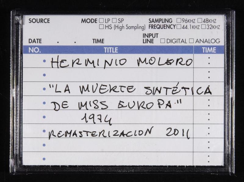 Herminio Molero, La muerte sintética de Miss Europa , 1974