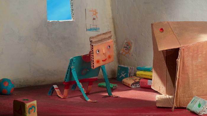 José Miguel Ribeiro. Dodu. O rapaz de cartao (Dodu, el niño de cartón), 2010