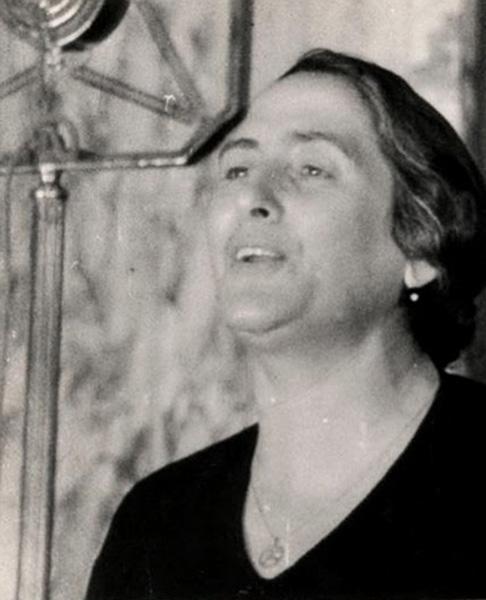 Dolores Ibárruri. Foto de Mikhail Koltsov, 1942